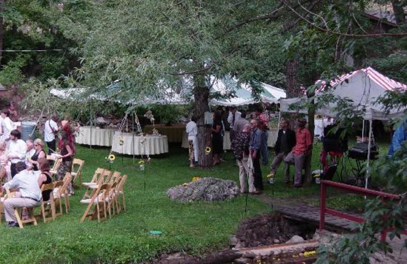 Wedding at Boulder Mountain Lodge.