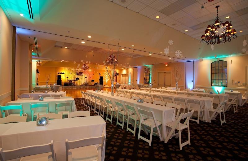 Wedding reception at Sea Palms Resort.