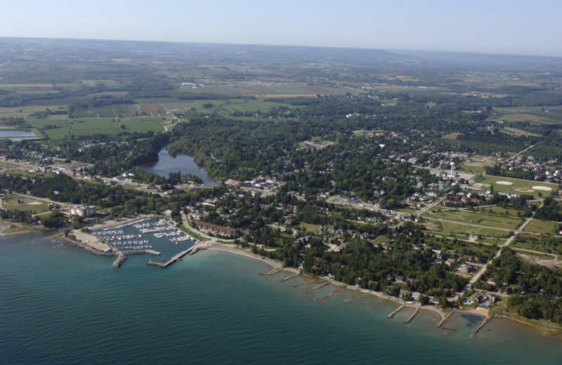 Aerial View of Royal Harbour Resort