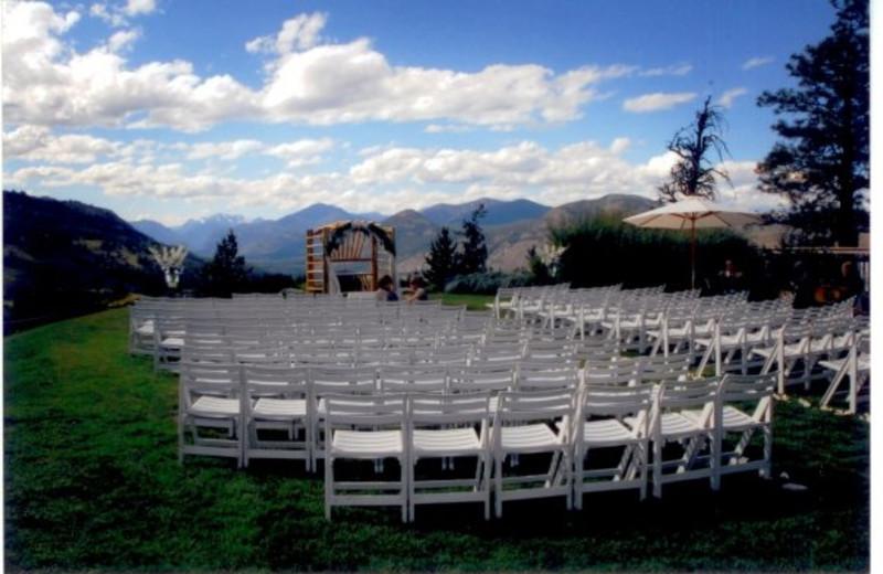 Wedding at Sun Mountain Lodge.