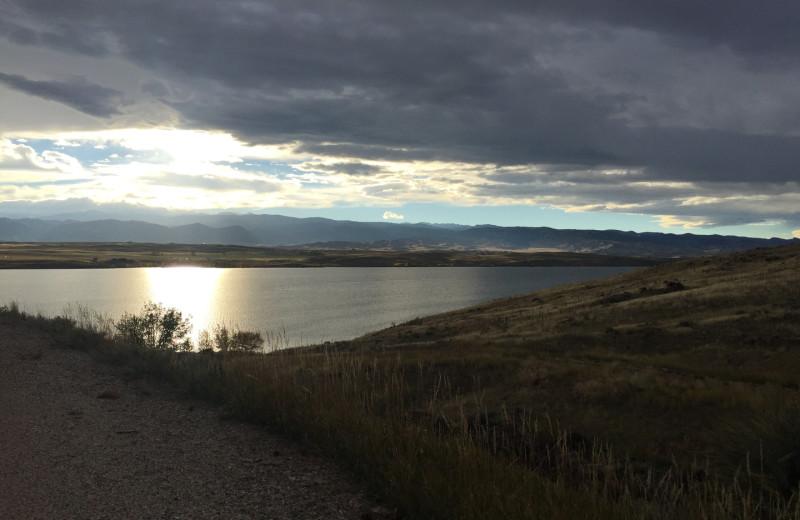 Lake view at Lakeview Lodge 307.