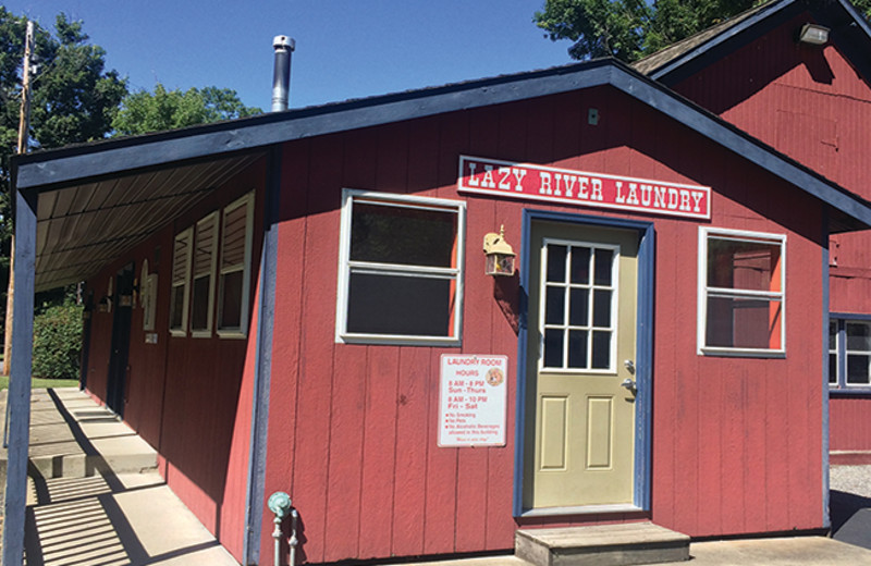 Laundry facilities at Yogi Bear's Jellystone Park Gardiner.