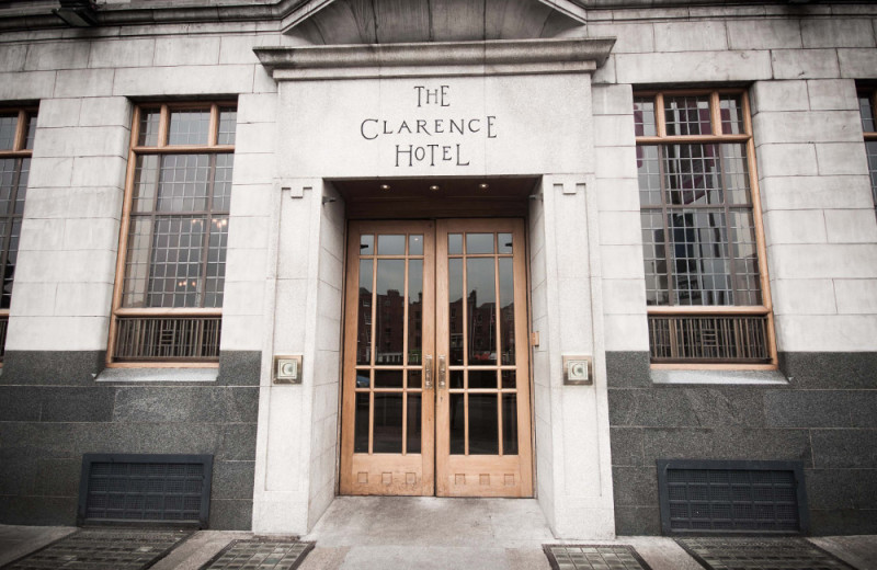 Exterior view of The Clarence.