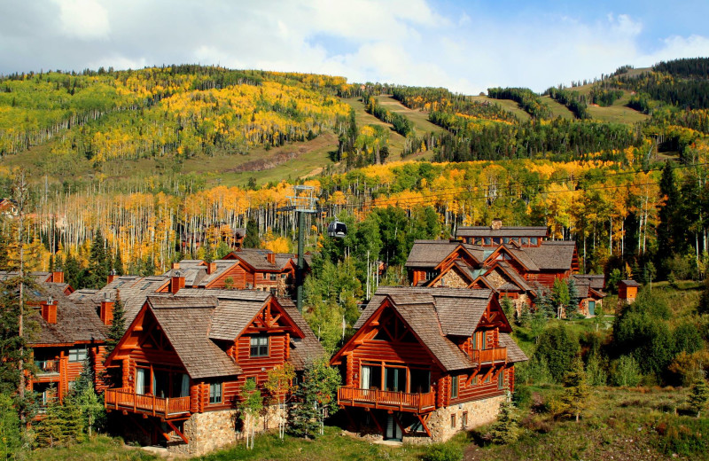 Exterior view of Mountain Lodge Telluride.