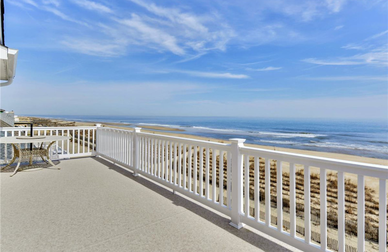 Rental deck view at Long & Foster Vacation Rentals -Bethany Beach.