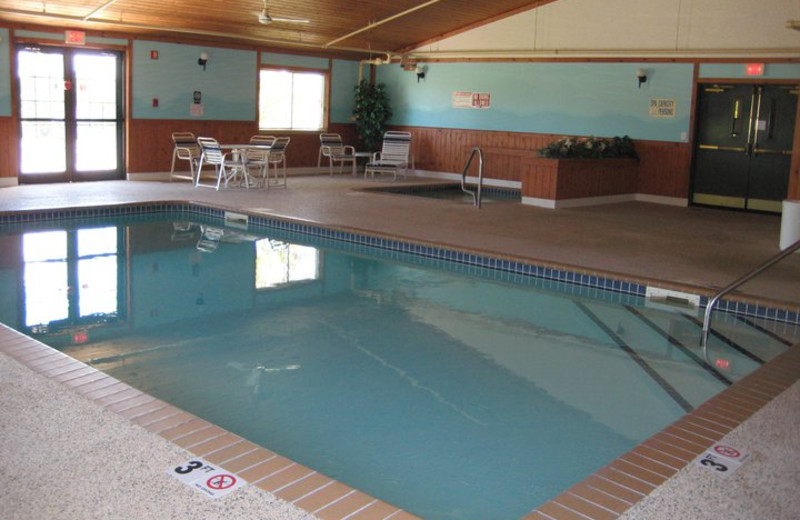 Indoor pool at Giants Ridge Golf and Ski Resort.