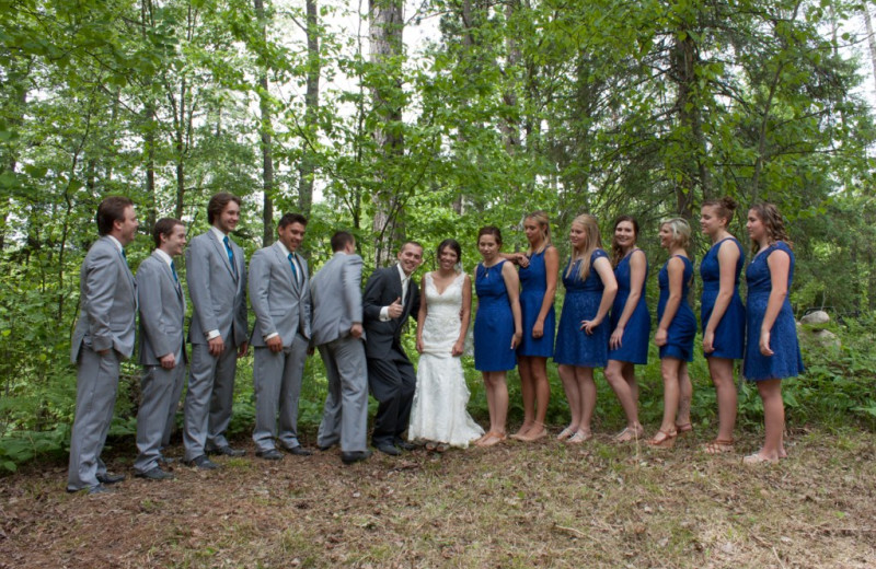 Weddings at Buckhorn on Caribou Lake.