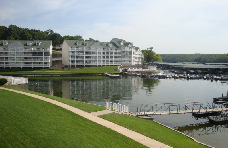 Exterior view of Parkview Bay and Tower Condos.