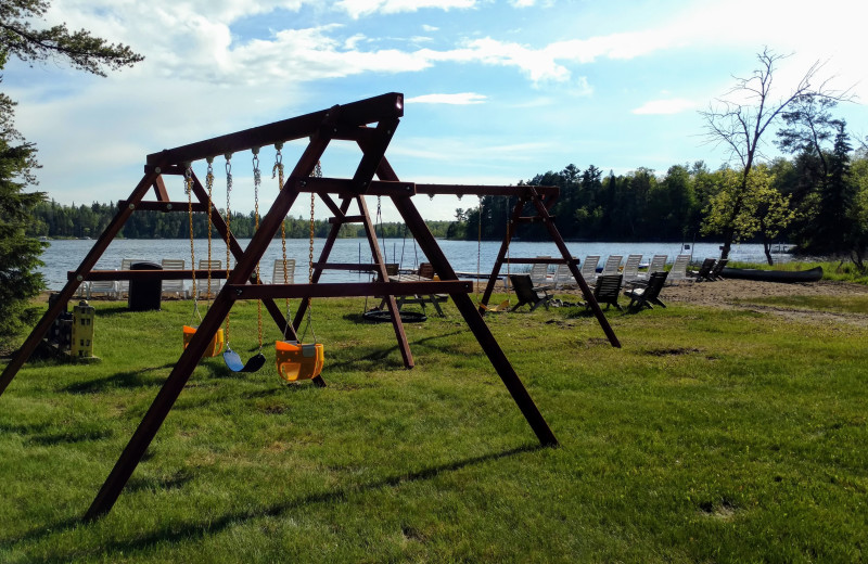 Little Norway features a large playground setting for family's to enjoy.