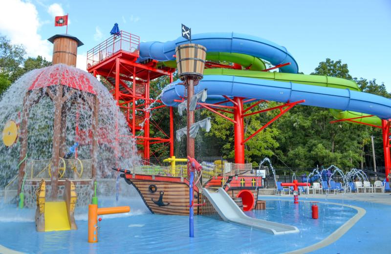 Water park at Yogi Bear's Jellystone Park Hagerstown.