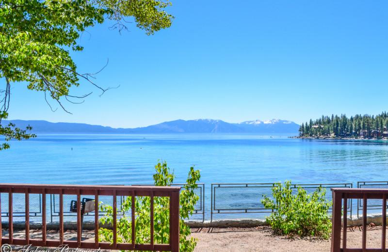 Lake view at Meeks Bay Resort