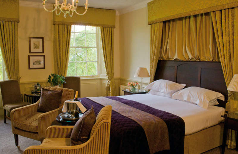 Guest suite at Ansty Hall Hotel.