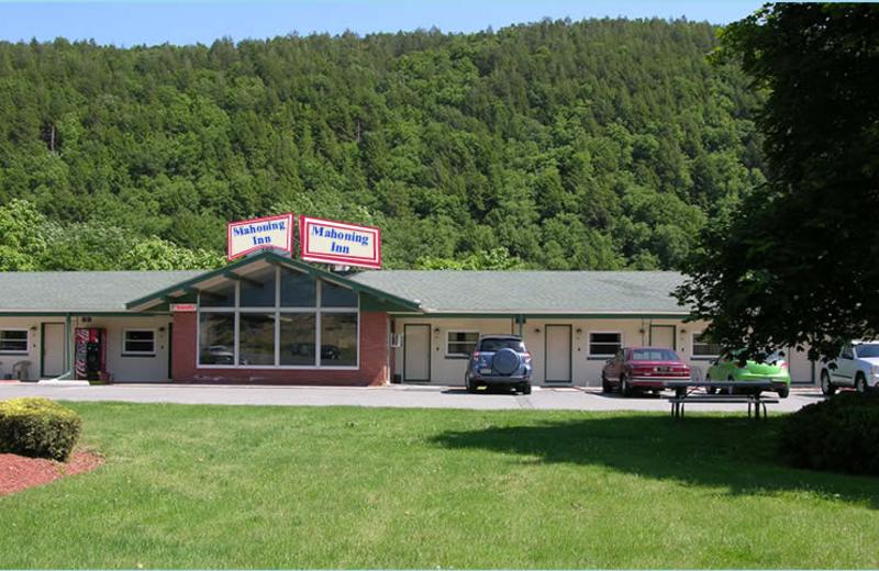Exterior view of Mahoning Inn.