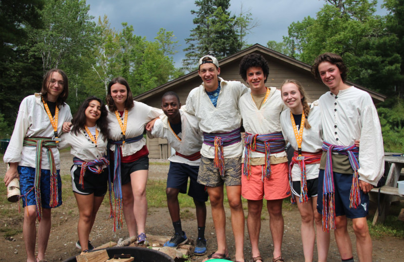 Groups at YMCA Camp Du Nord.