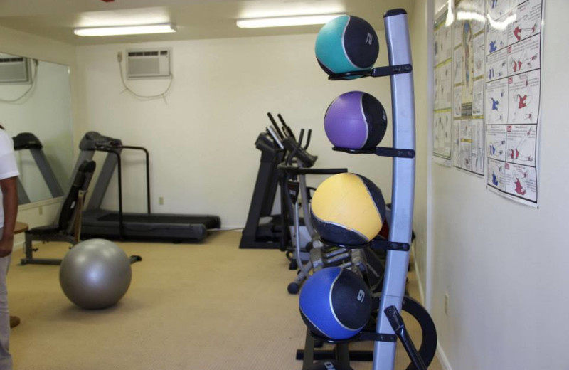 Fitness Room at The Beachside At Nantucket