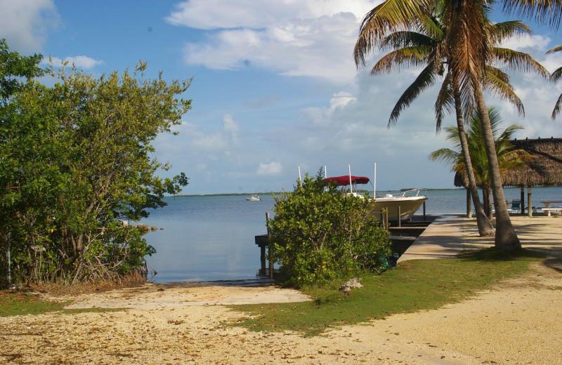 Beach at Rock Reef Resort.