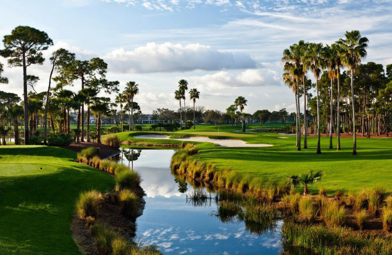 Golf course at PGA National Resort & Spa.
