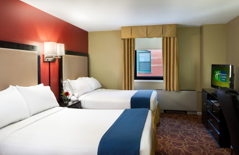 Holiday Inn Express Suites Boston Garden Boston Ma Resort