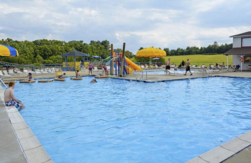 Pool at Lake Ridge Resort.