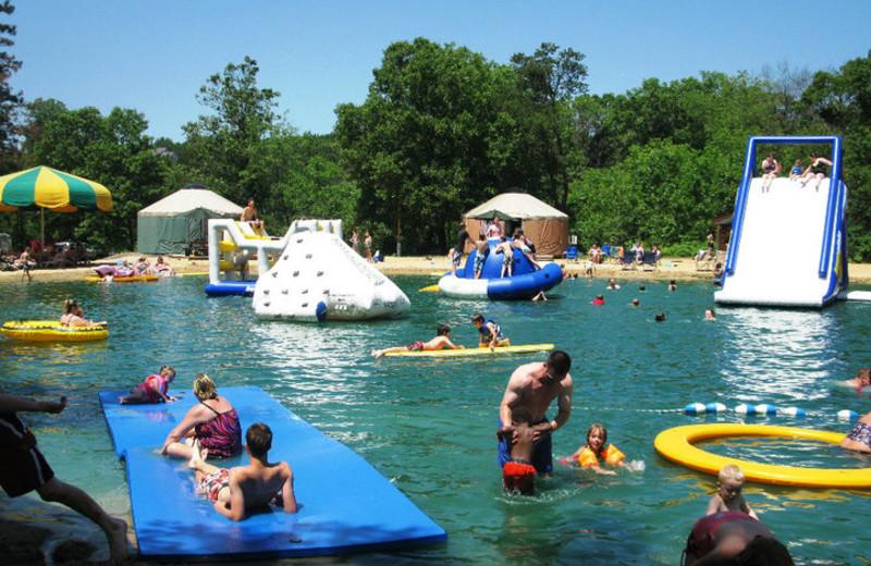 Water Fun at Smokey Hollow Campground