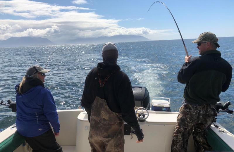Fishing at Reel Obsession Sport Fishing.