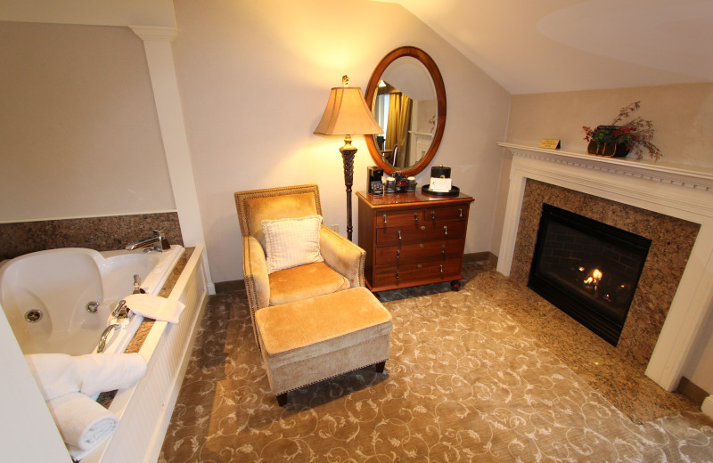 Interior at The Meadowmere Resort.