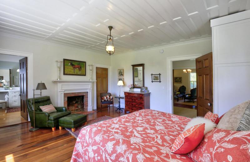 Rental bed room at Woodfield Properties.