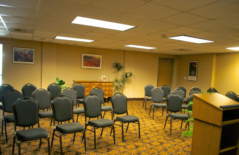 Conference room at Hampton Inn & Suites Flagstaff.