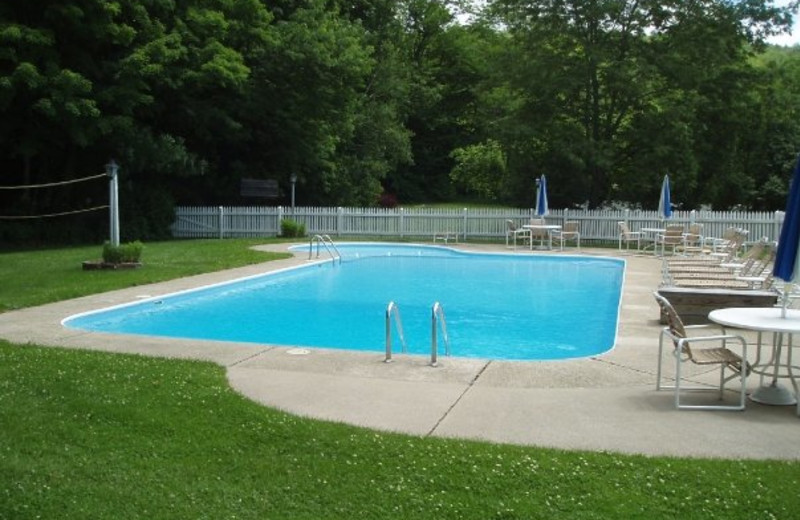 Pool View at Echo Lake Inn