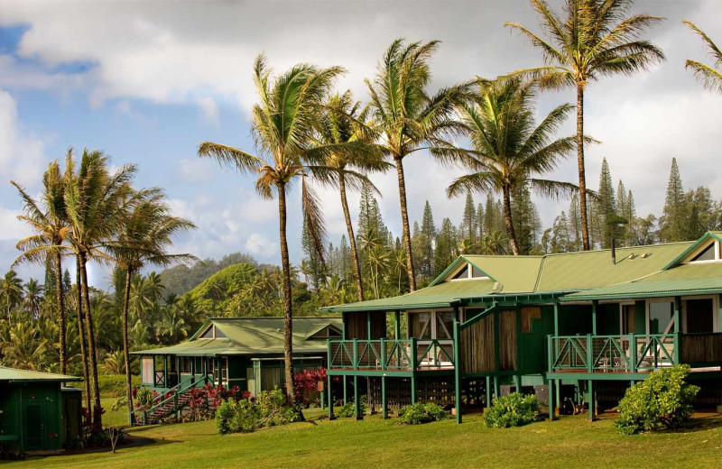 Exterior view of Travaasa Hana, Maui.