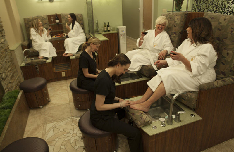 Pedicures at The Spa at Norwich Inn.