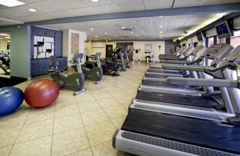 Fitness center at Westgate Town Center.