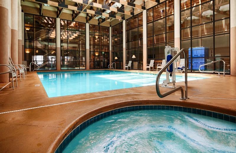 Indoor pool at Best Western Plus Ruby's Inn.