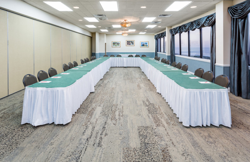 Meetings room at Ramada Plaza Nags Head Oceanfront.