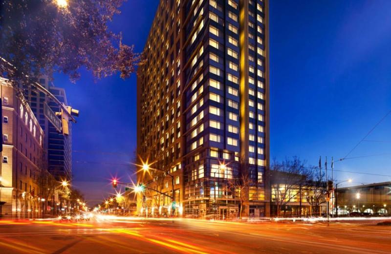 Exterior view of San Jose Marriott.
