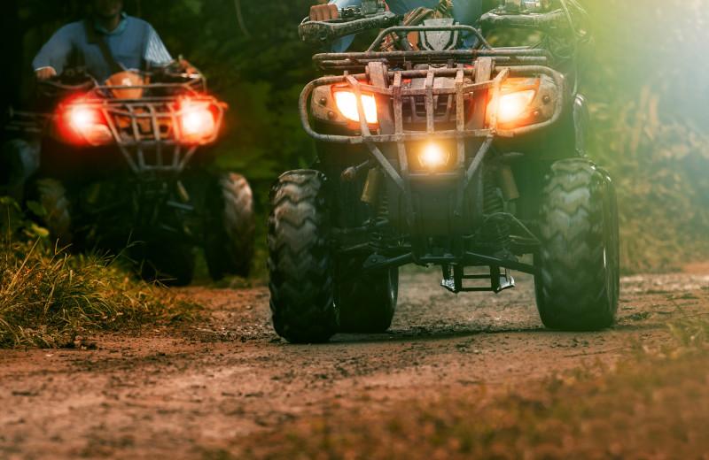 ATV at Cascade Lodge.