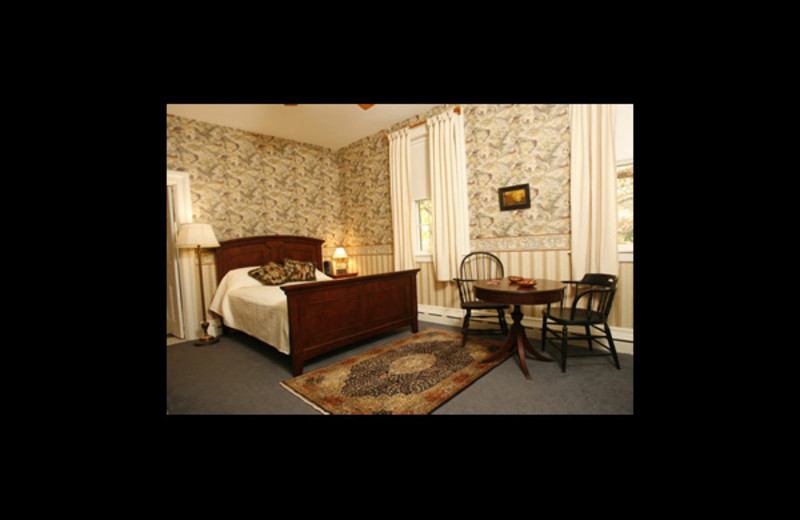 Guest bedroom at Temple Hill Bed & Breakfast.