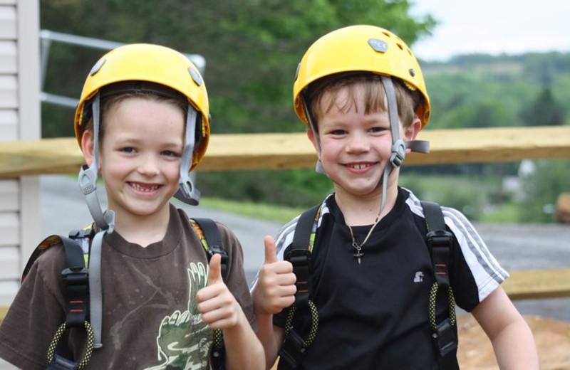 Kids Playing at Wisp Resort