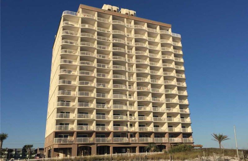 Rental exterior at Gulf Shores Rentals.