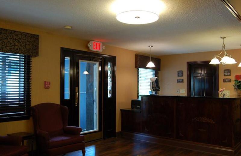 Lobby view at Black Swan Inn.