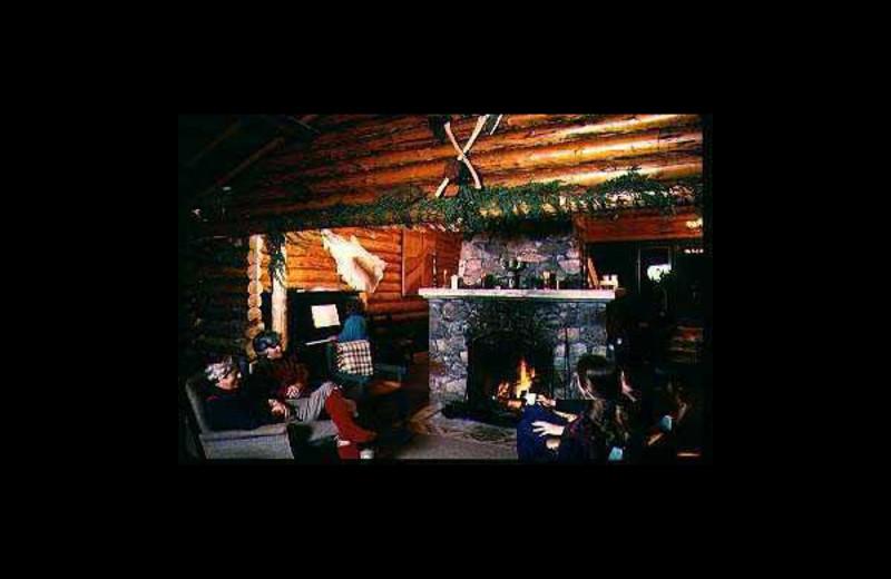 Lounge at Terratima Lodge.