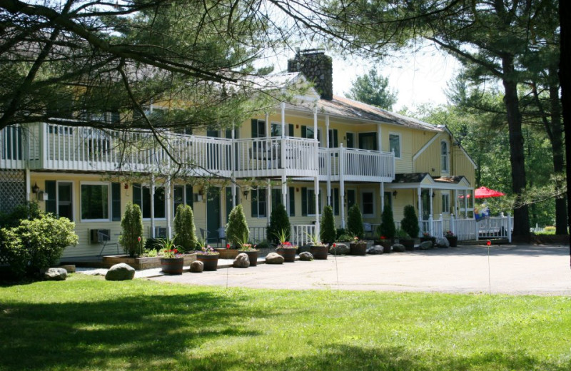 Exterior view of The Arbor Inn.