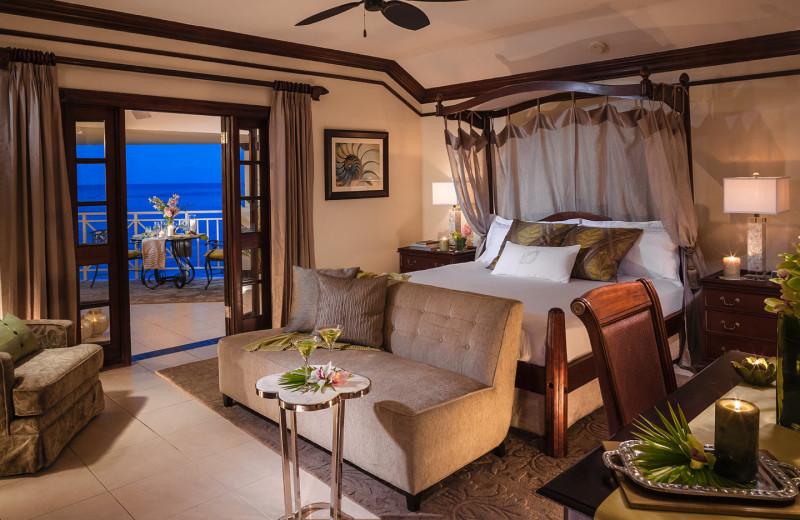 Guest room at Beaches Royal Plantation Golf Resort and Spa.