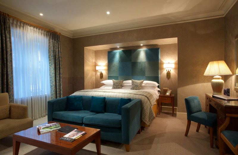 Guest room at Chester Grosvenor.
