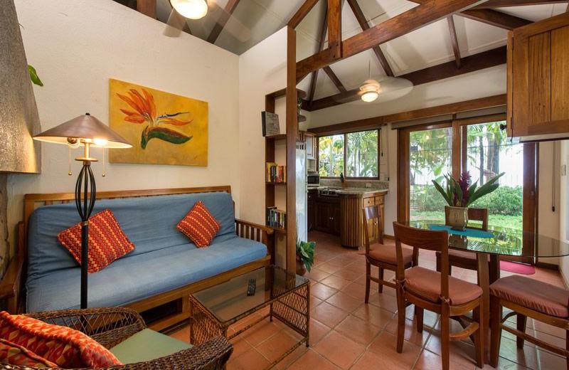 Guest room at Casa Cook.