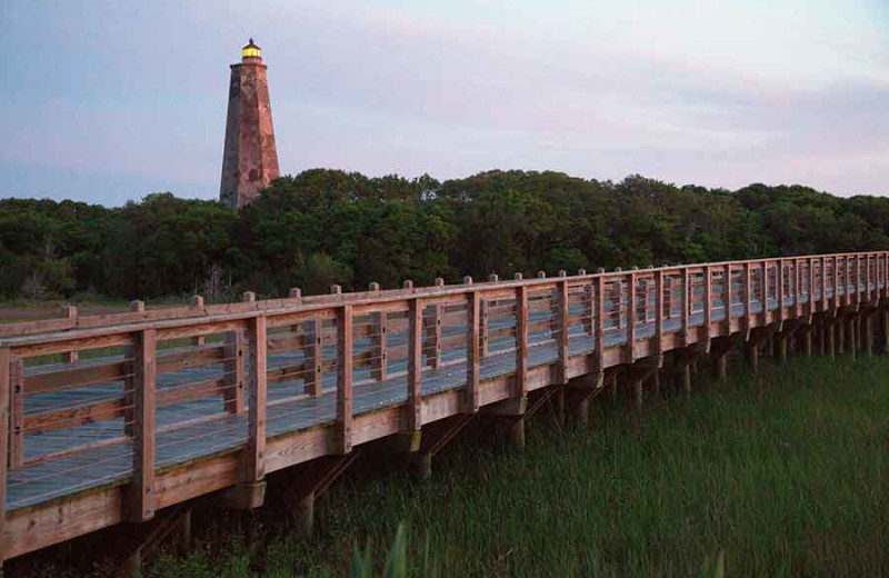 Boardwalk at The Inn at Bald Head Island.
