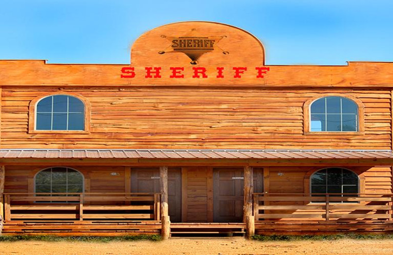 Sheriff Cabin at Diamonds Old West Cabins.
