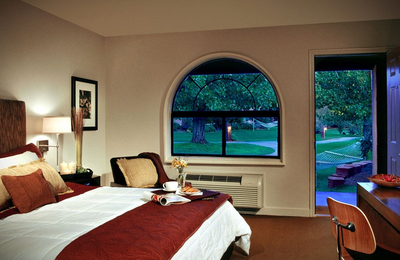 Guest room at Red Mountain Resort & Spa.