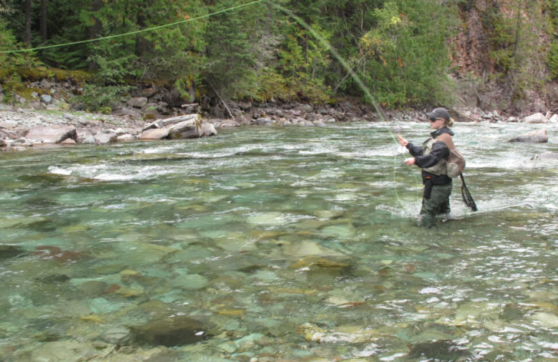 Fishing at Fernie Central Reservations.
