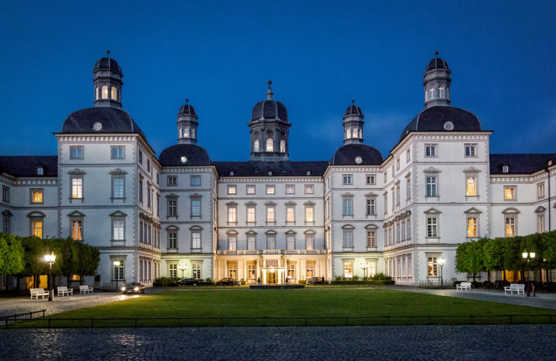 Exterior view of Grandhotel Schloss Bensberg.
